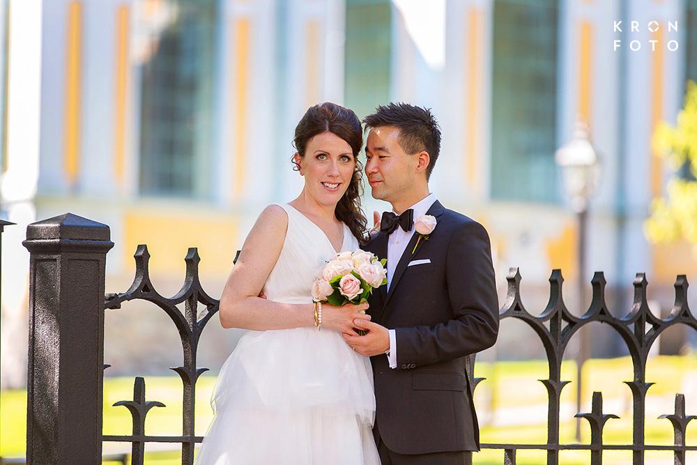 Bröllopsfotografering Katarina Kyrka Kronfoto