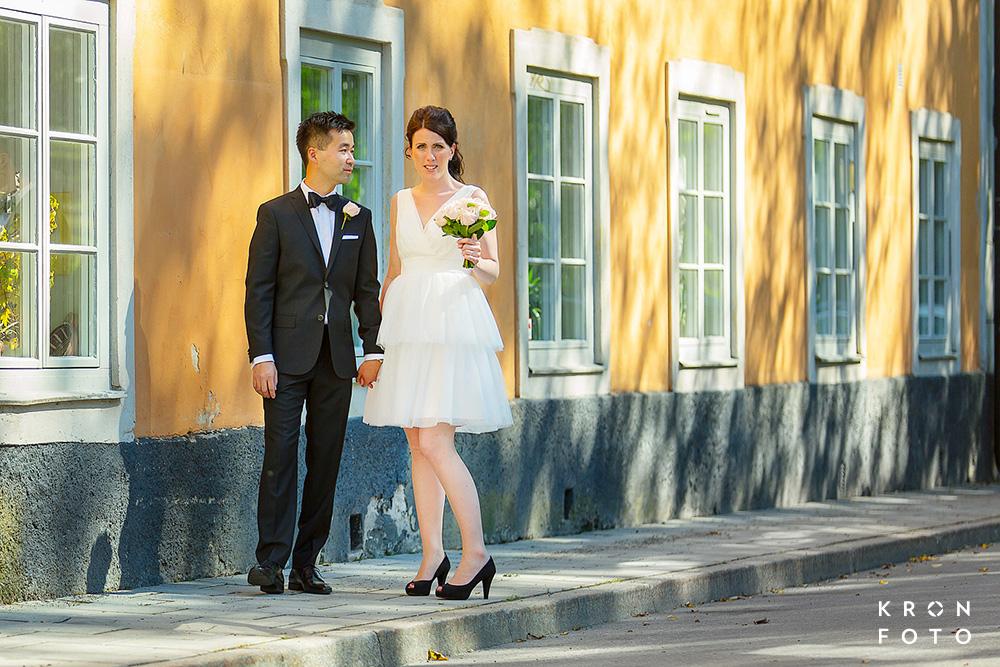 brudpar giftemål Katarina Kyrka